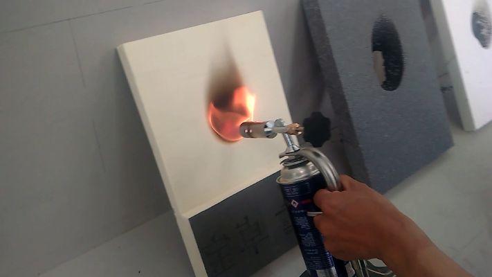 XPS-Brandbaarheid